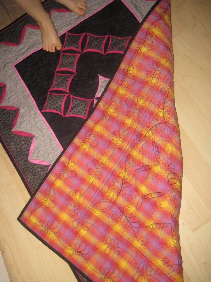Back - quilting