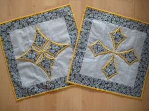 My love for Cathedral Window Quilts