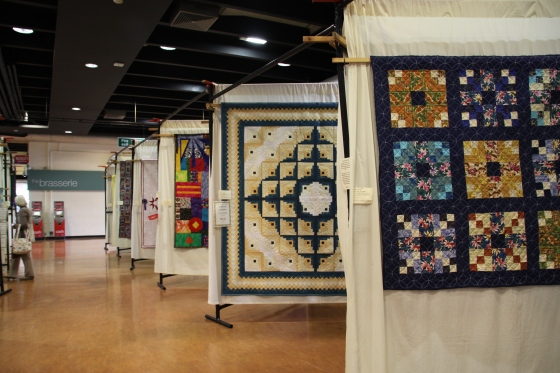 Sandown quilt show and my Awards
