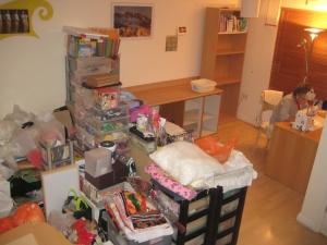 atelier tidy up