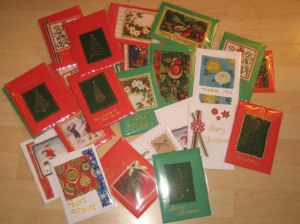 hand made christmas cards