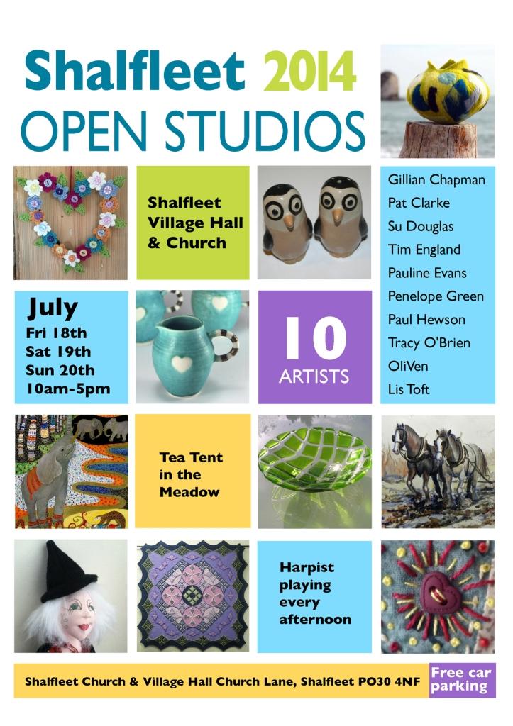 shalfleet open studio