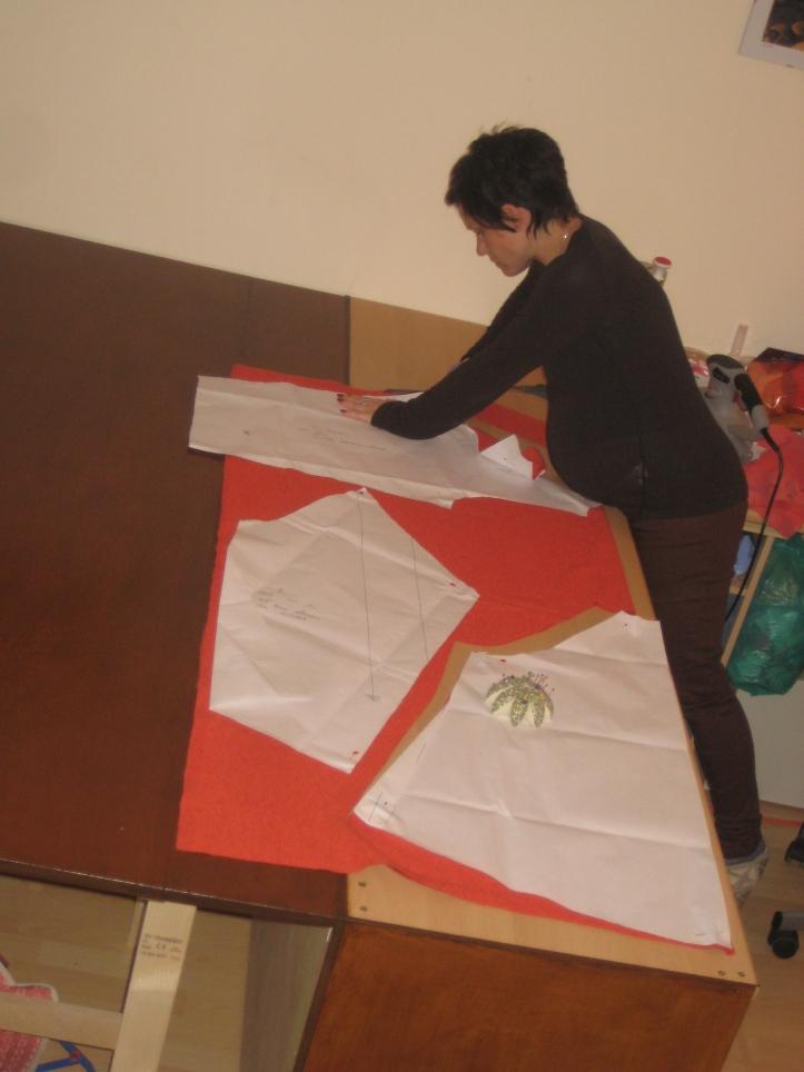 cutting fabrics