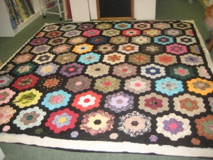 Grandma's garden quilt