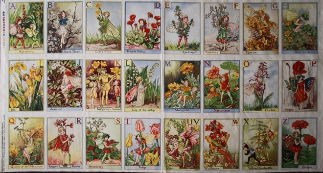 Flower Fairies Alphabet