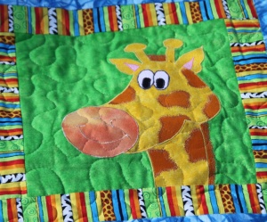 Balthazar quilt animals