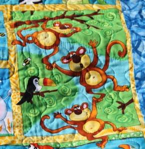 Balthazar quilt animals