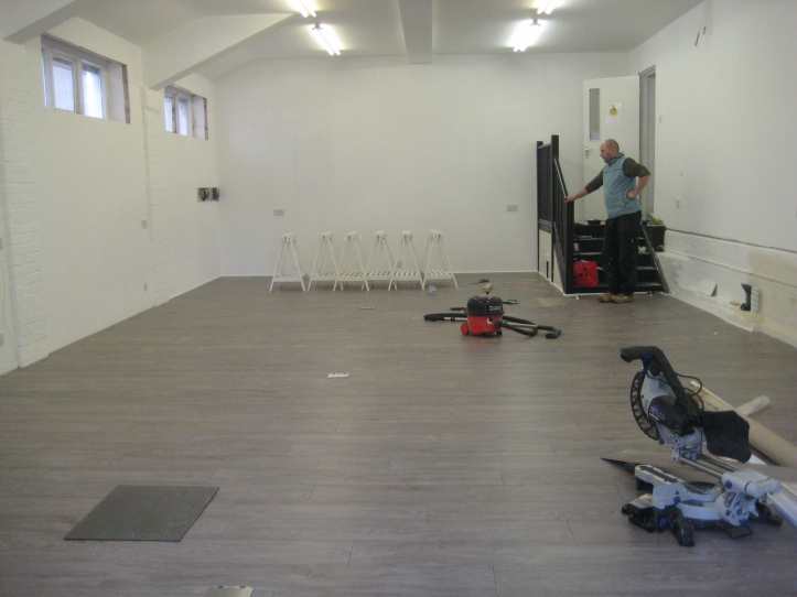 workshop renovations