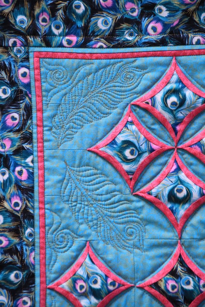 Cathedral window patchwork by Vendulka Battais