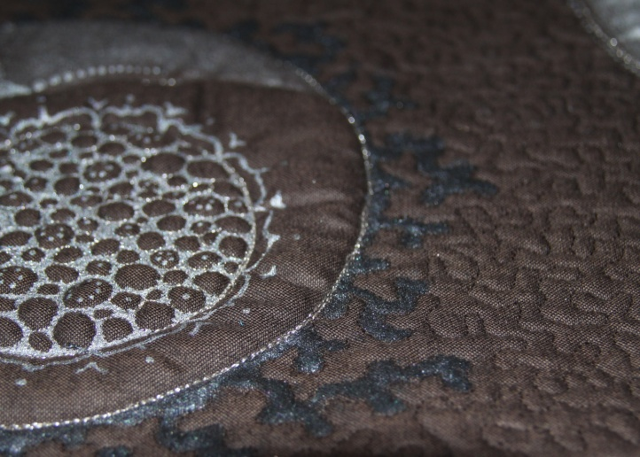 Creative quilting and painting