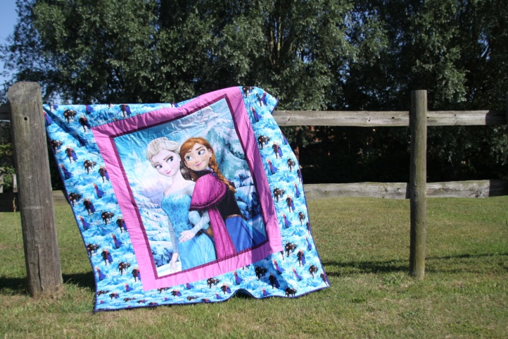 frozen fever quilt
