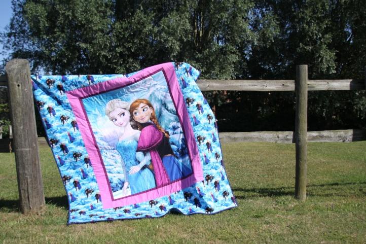 frozen fever quilt